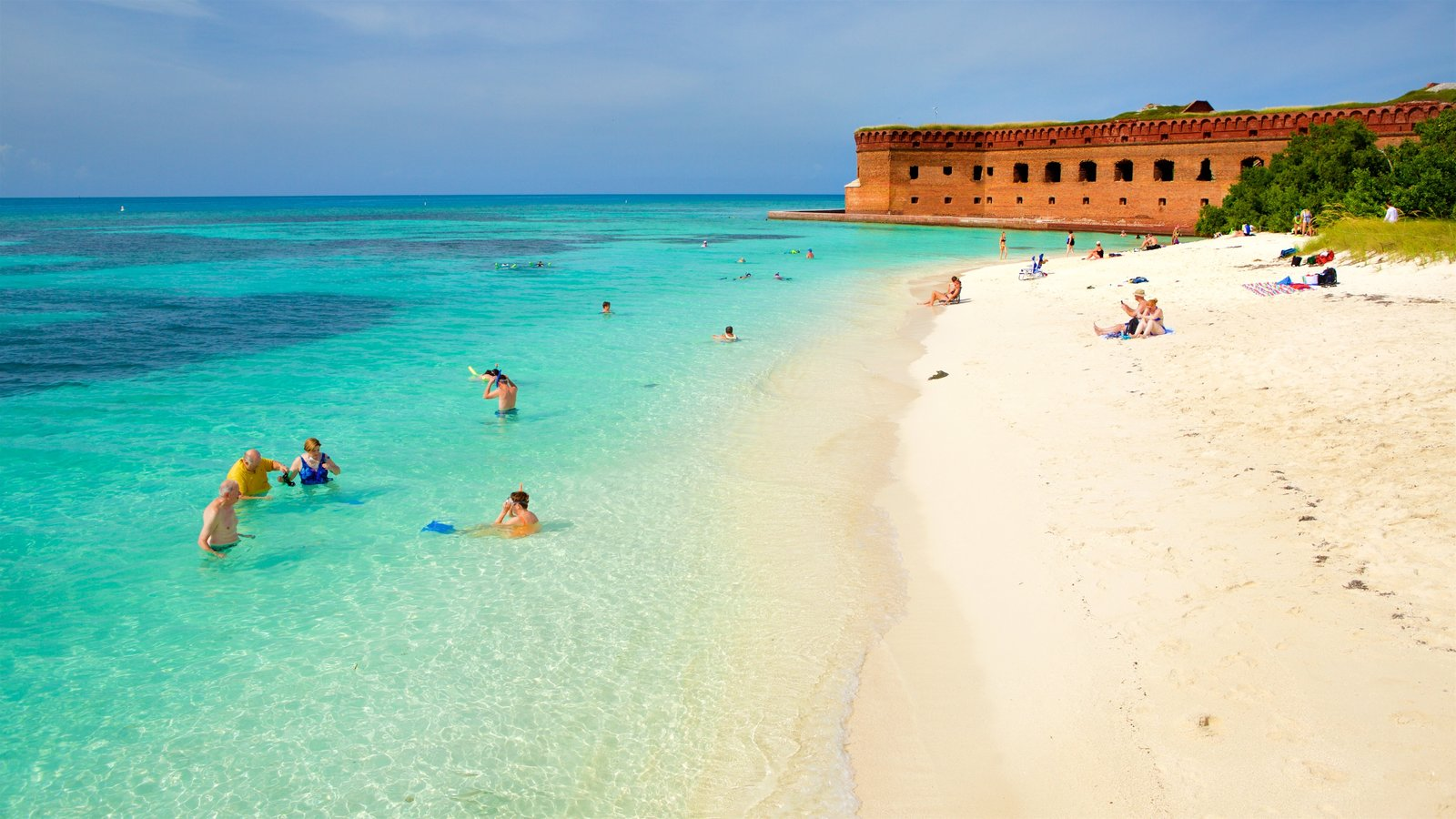 Coastal Pictures View Images Of Dry Tortugas National Park