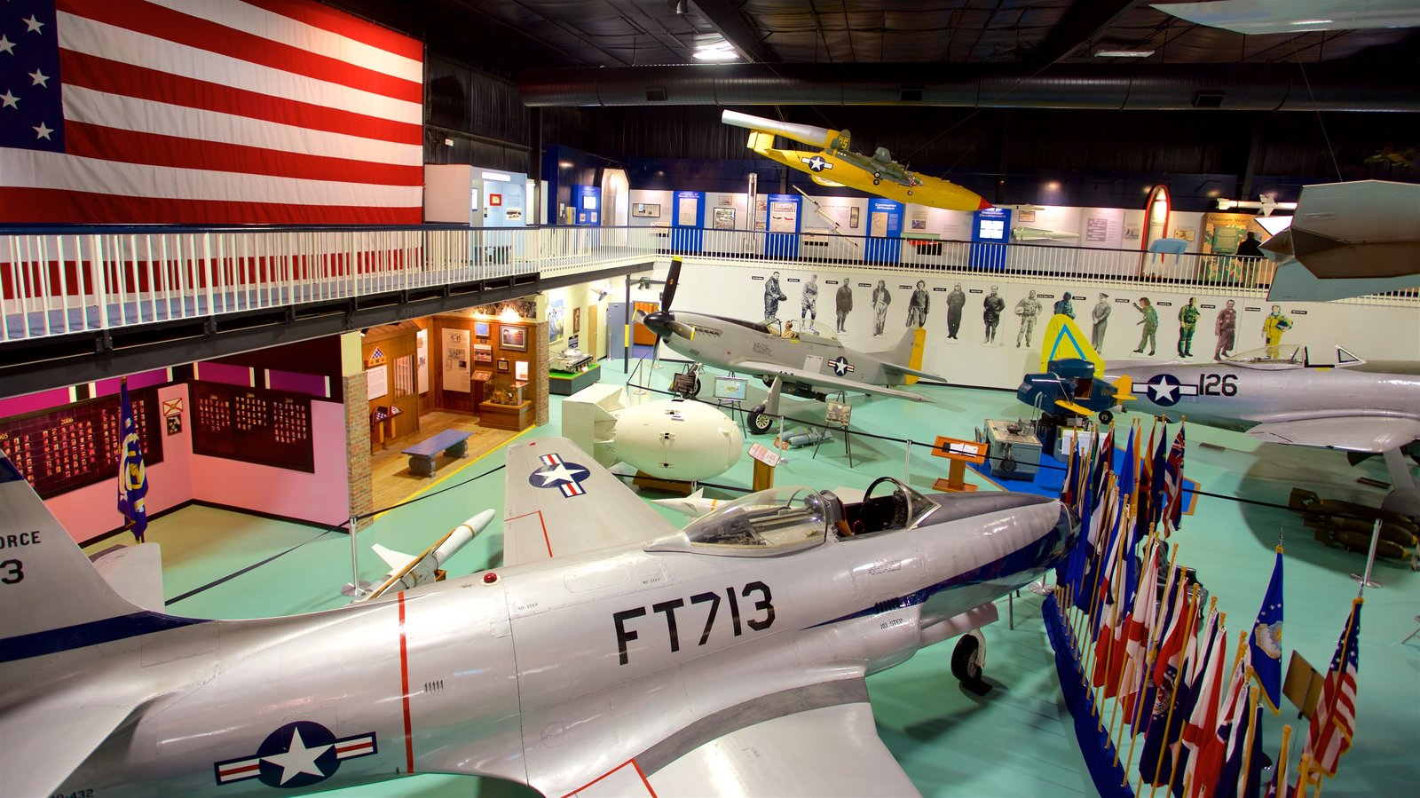 Air Force Armament Museum which includes interior views, heritage elements and military items