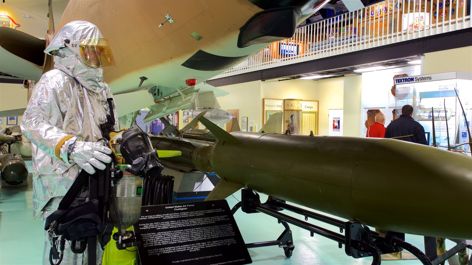 Air Force Armament Museum which includes interior views