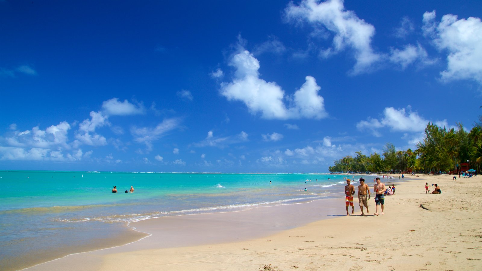 Beach Pictures View Images Of Luquillo Playa Azul In Puerto Rico