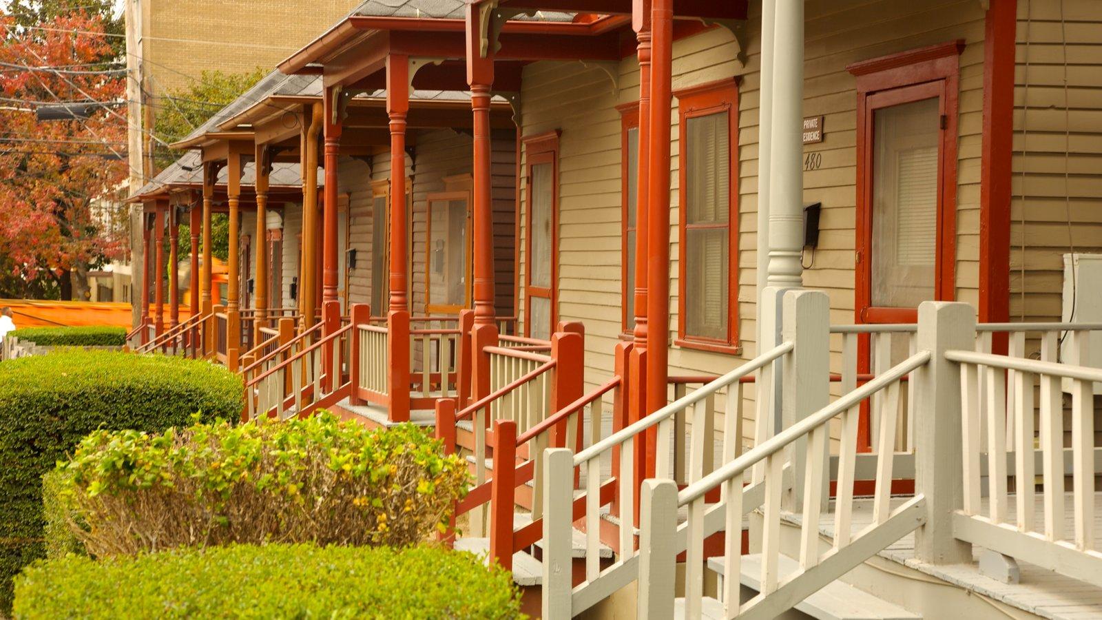 Atlanta que inclui uma casa e arquitetura de patrimônio