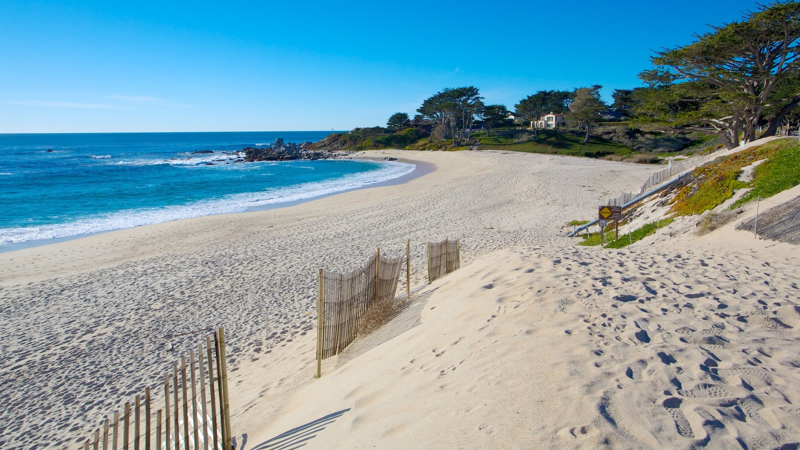 Monterey featuring general coastal views, a sandy beach and landscape views