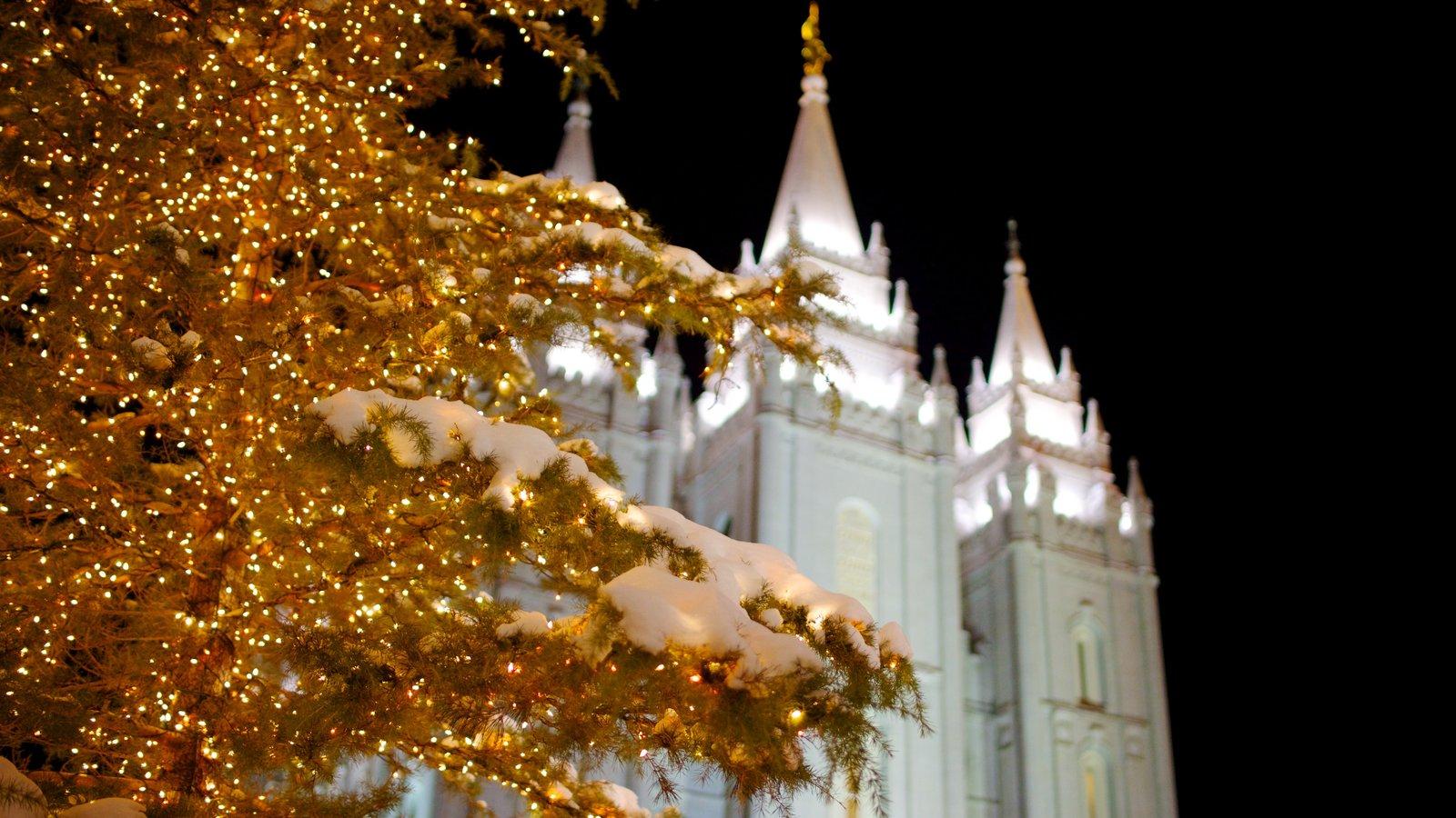 Salt Lake City que incluye una ciudad y patrimonio de arquitectura