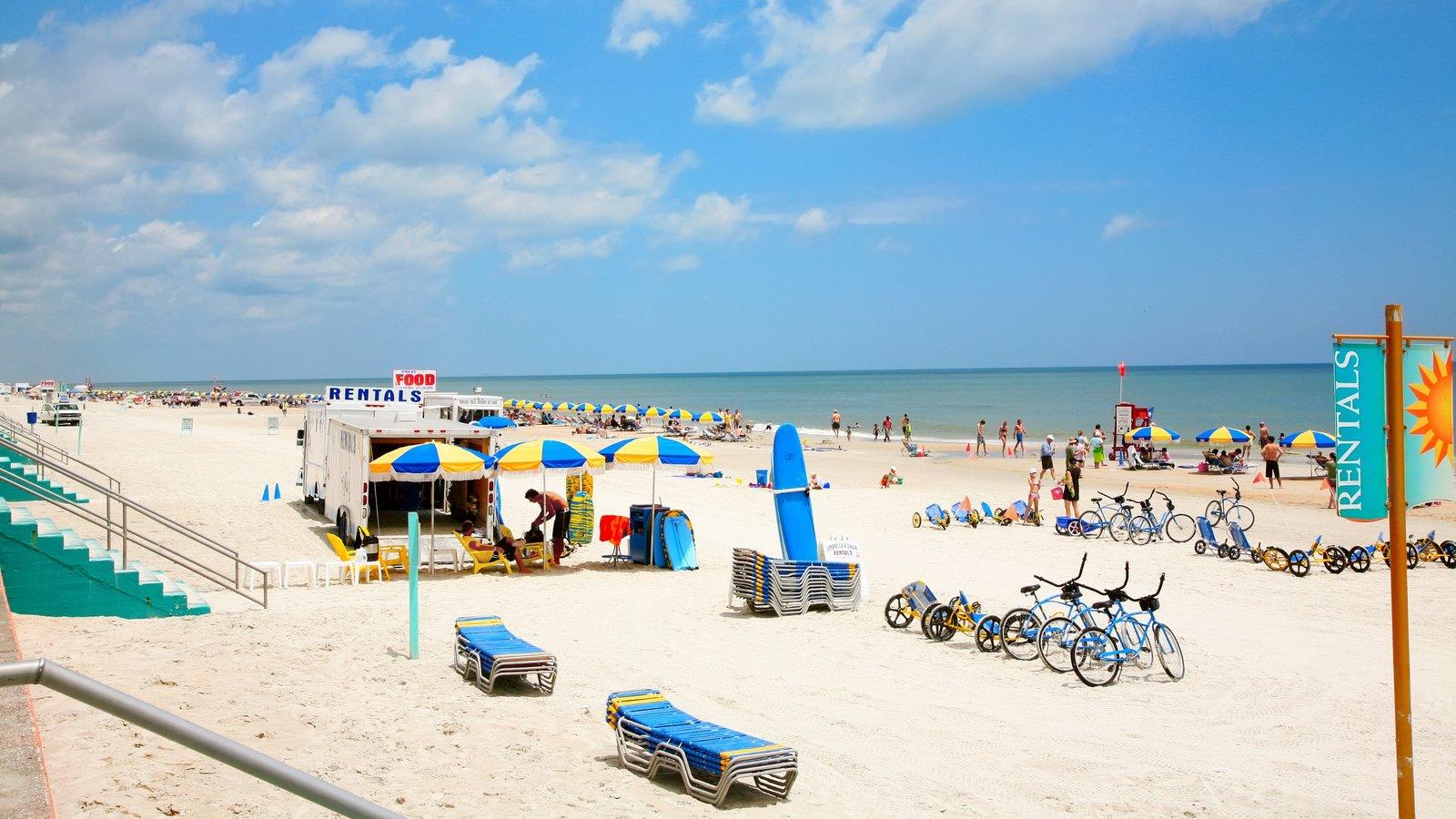 Daytona Beach featuring general coastal views and a beach
