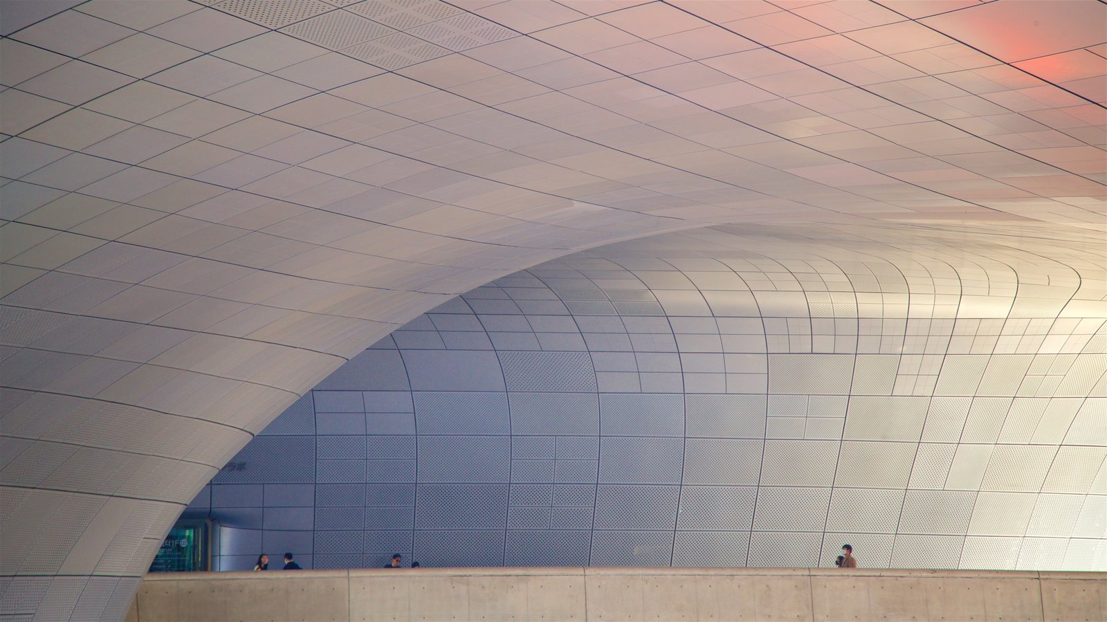 Dongdaemun Design Plaza which includes interior views and modern architecture