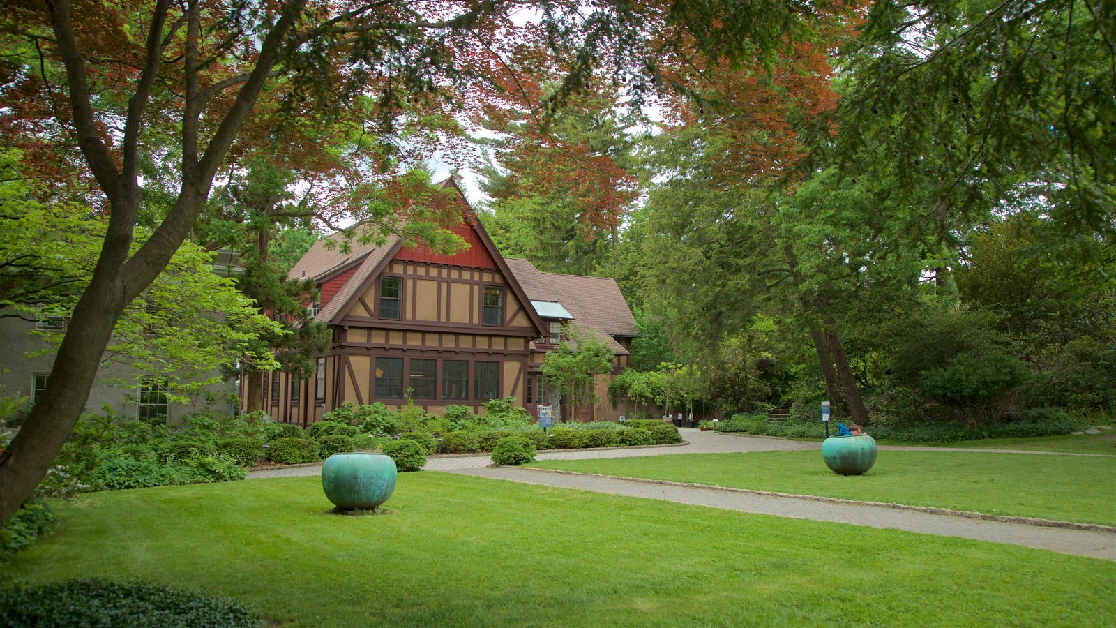 Van Vleck House & Gardens ofreciendo una casa y un jardín