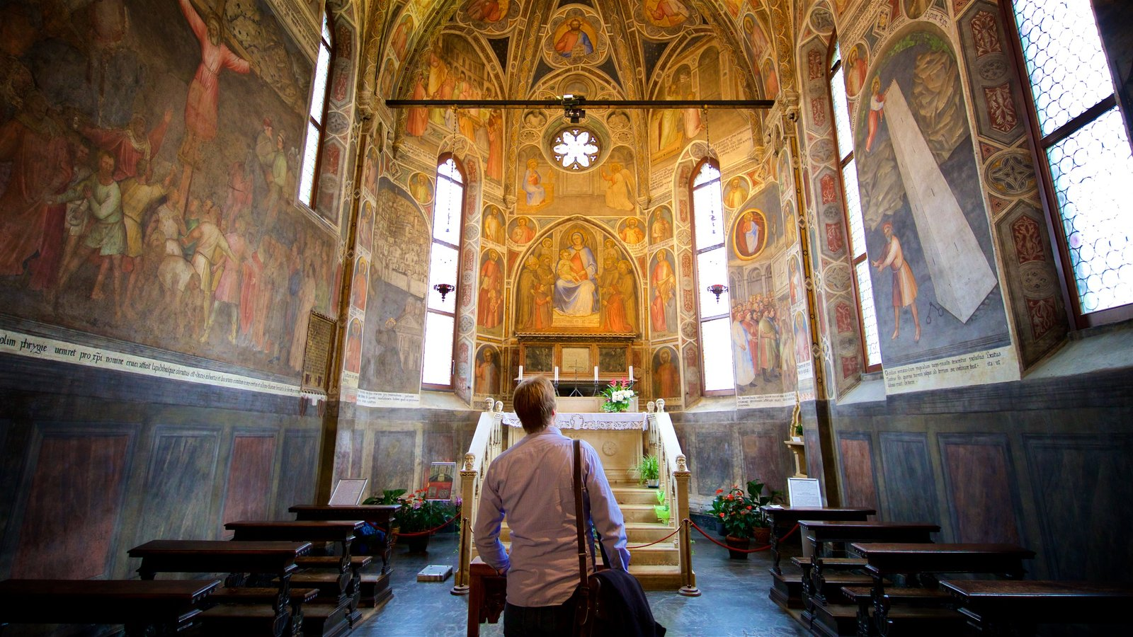 Basilica di Sant\'Antonio da Padova showing interior views, art and heritage elements