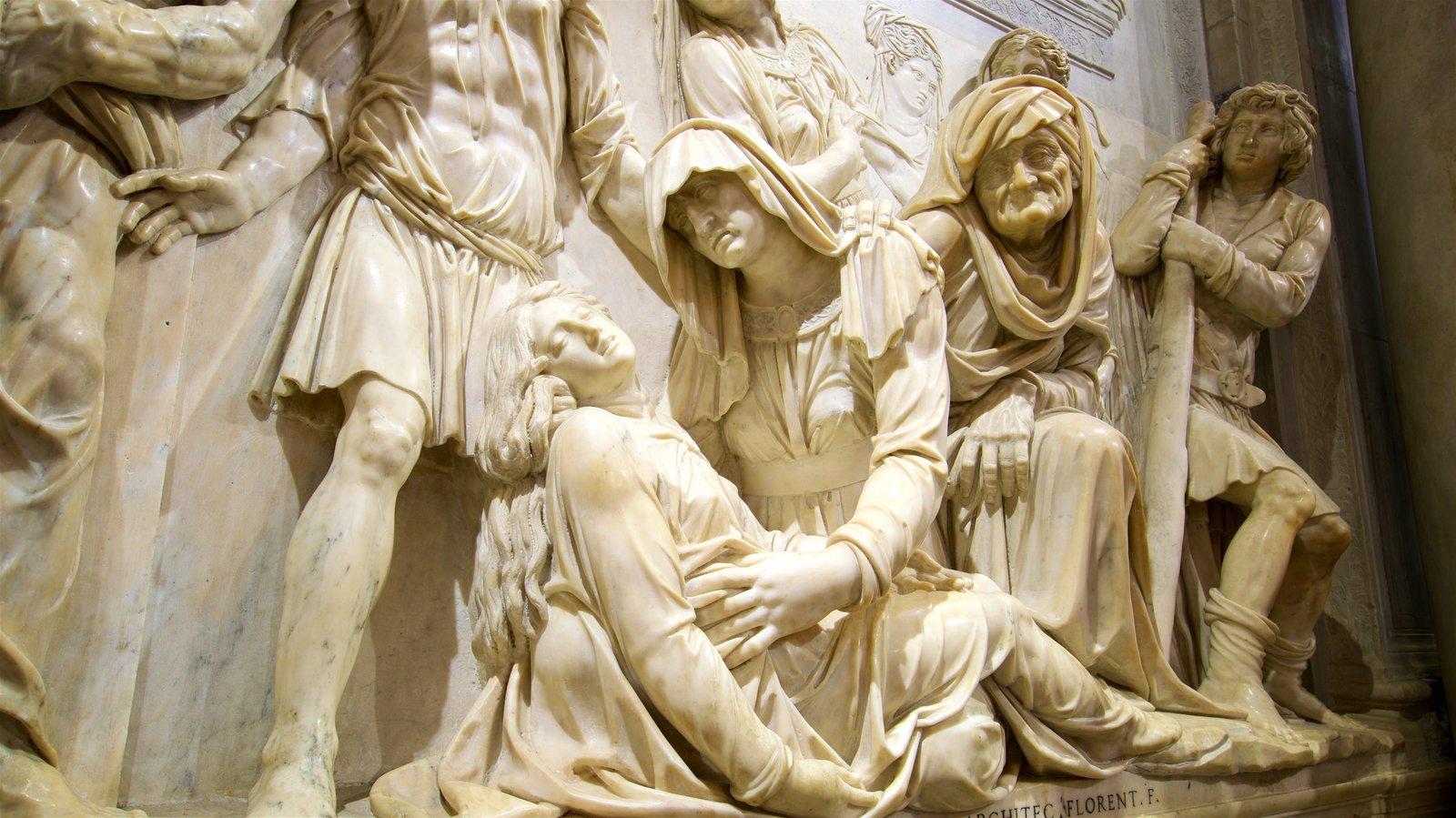 Basilica di Sant\'Antonio da Padova which includes religious elements and a statue or sculpture