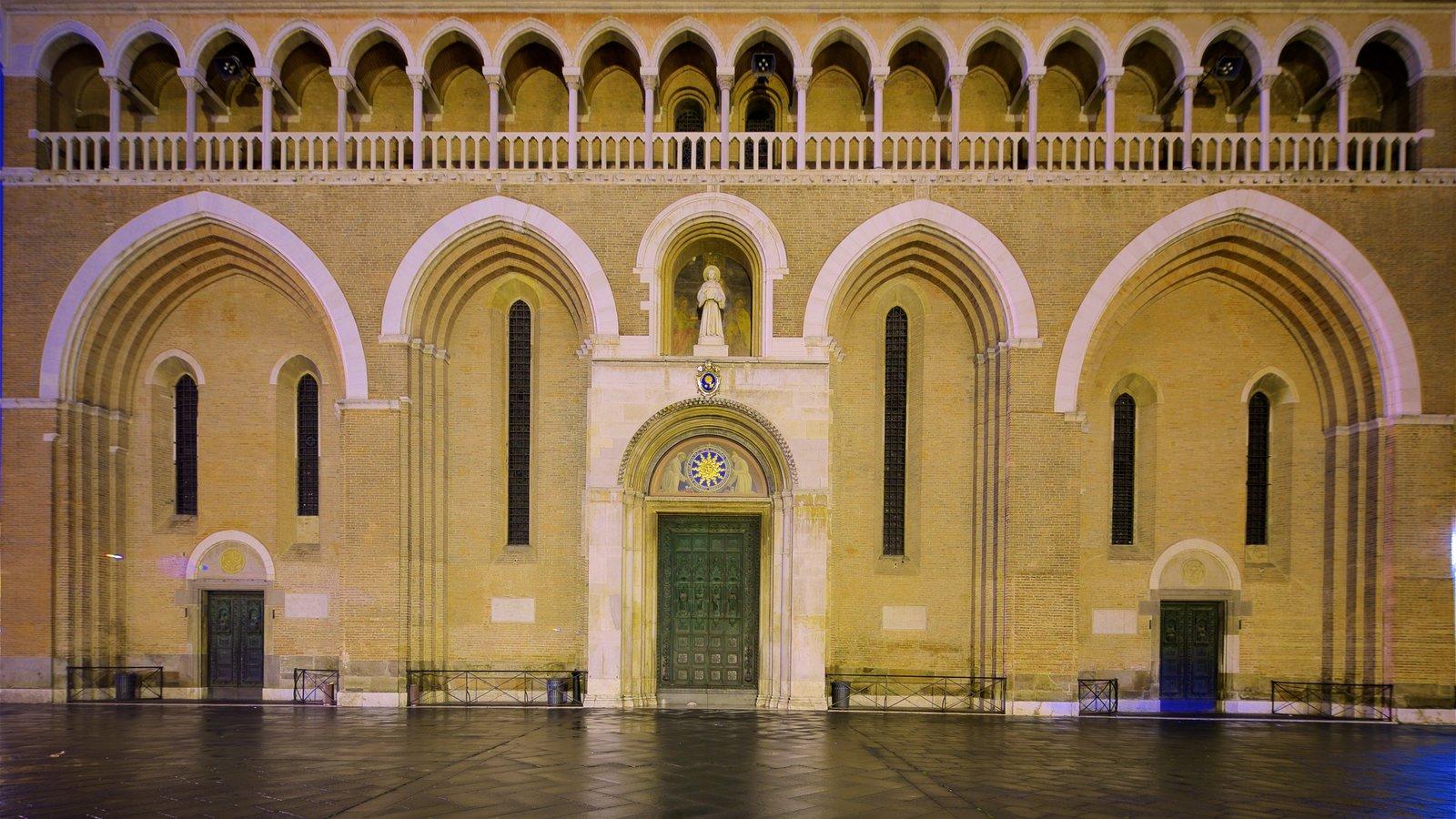 Basilica di Sant\'Antonio da Padova showing heritage elements