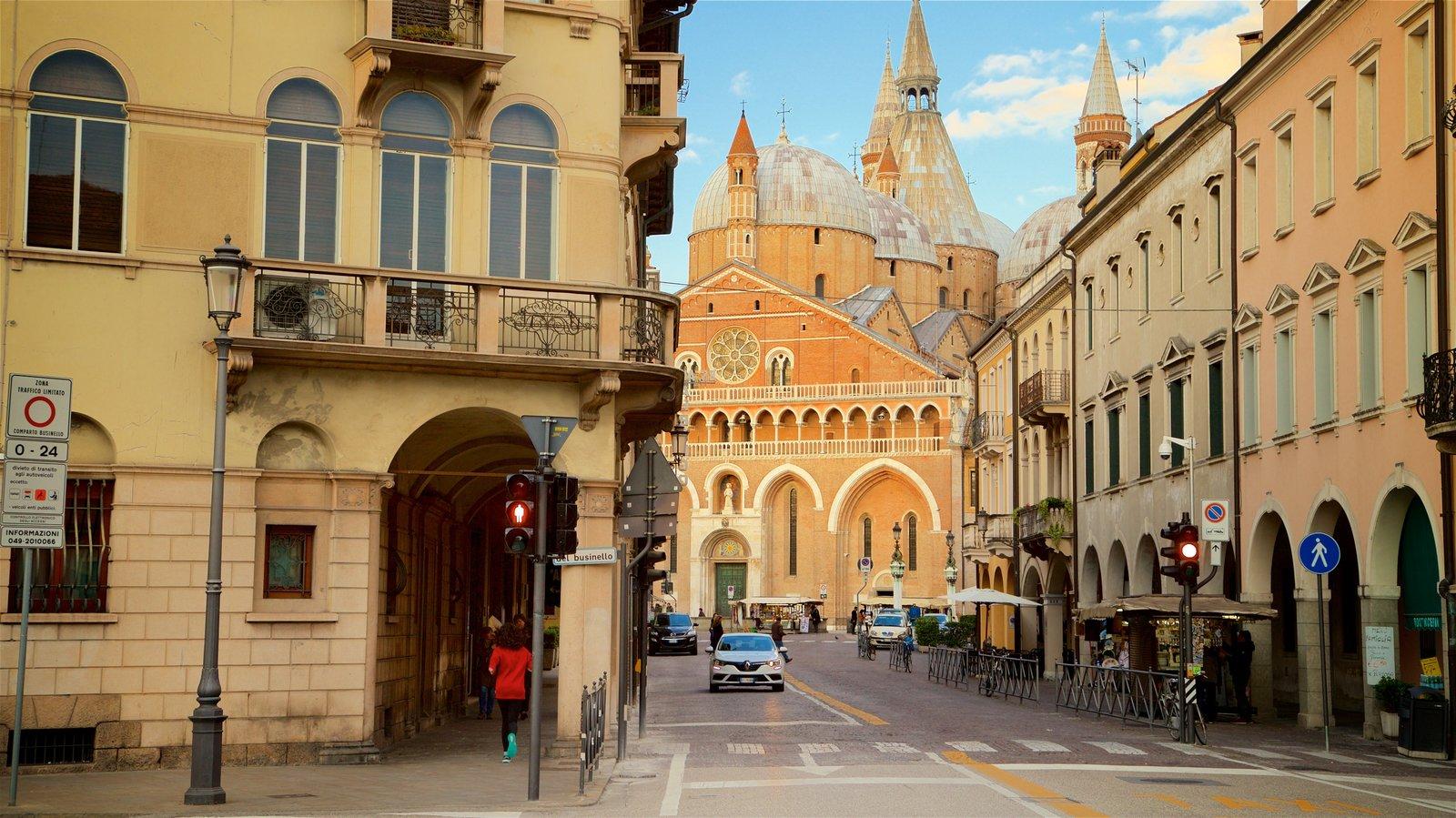 Basilica di Sant\'Antonio da Padova which includes a church or cathedral, heritage elements and a city