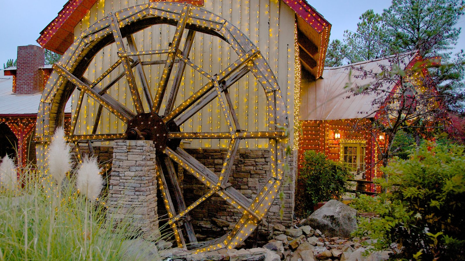 Stone Mountain Park que inclui arquitetura de patrimônio