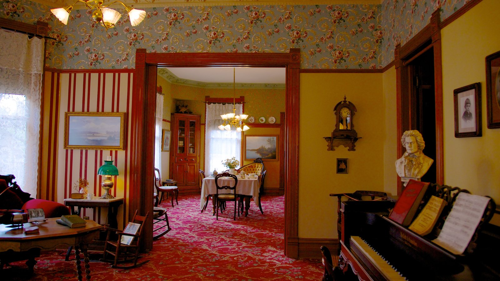 Ernest Hemingway Museum And House Featuring Interior Views