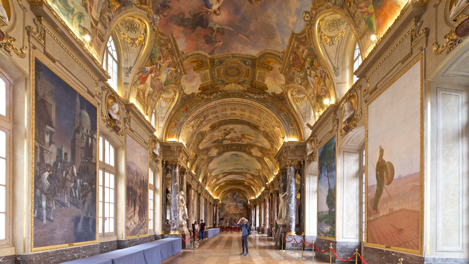 Capitole de Toulouse showing art, heritage elements and interior views