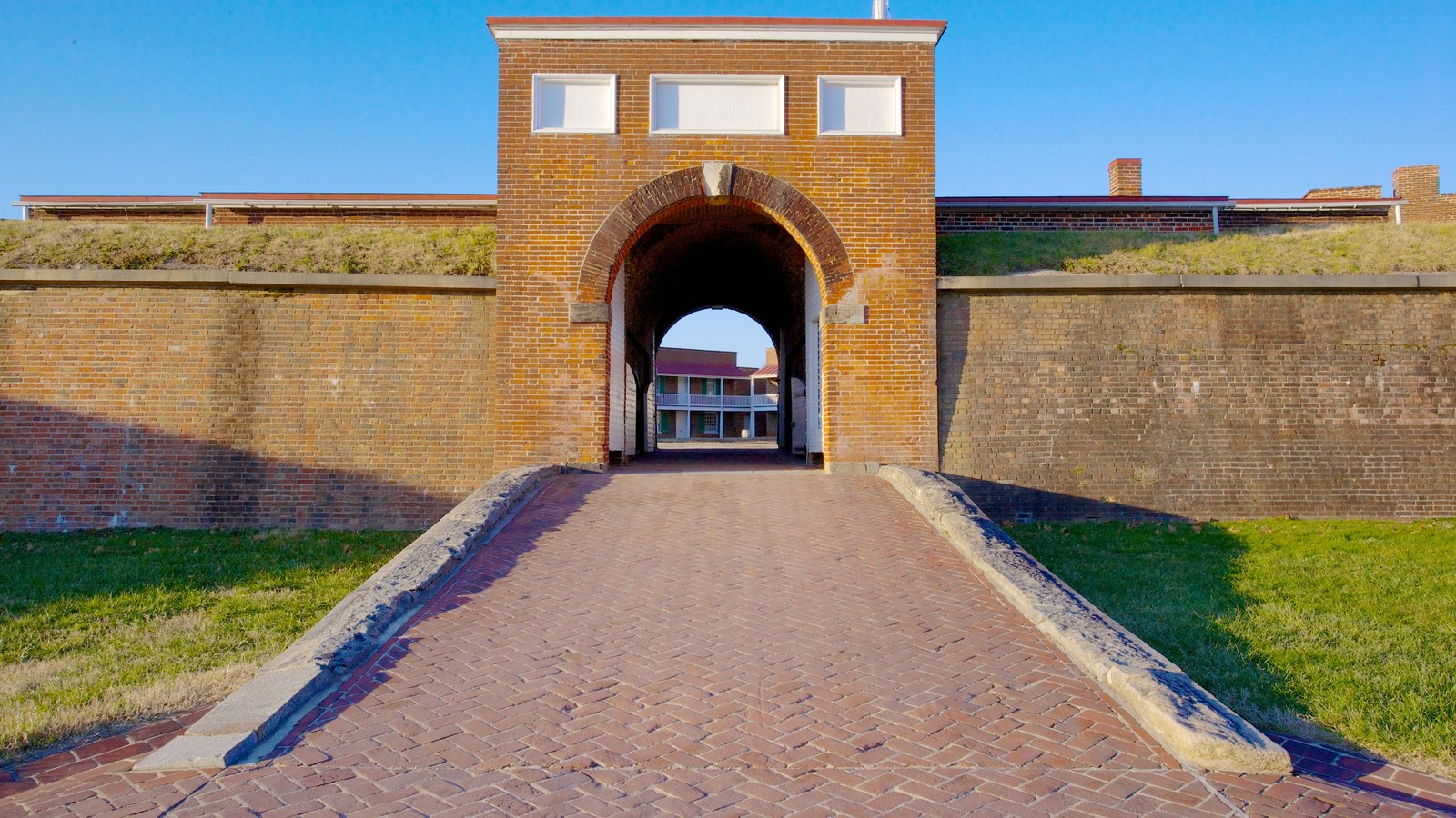 Fort McHenry featuring heritage architecture
