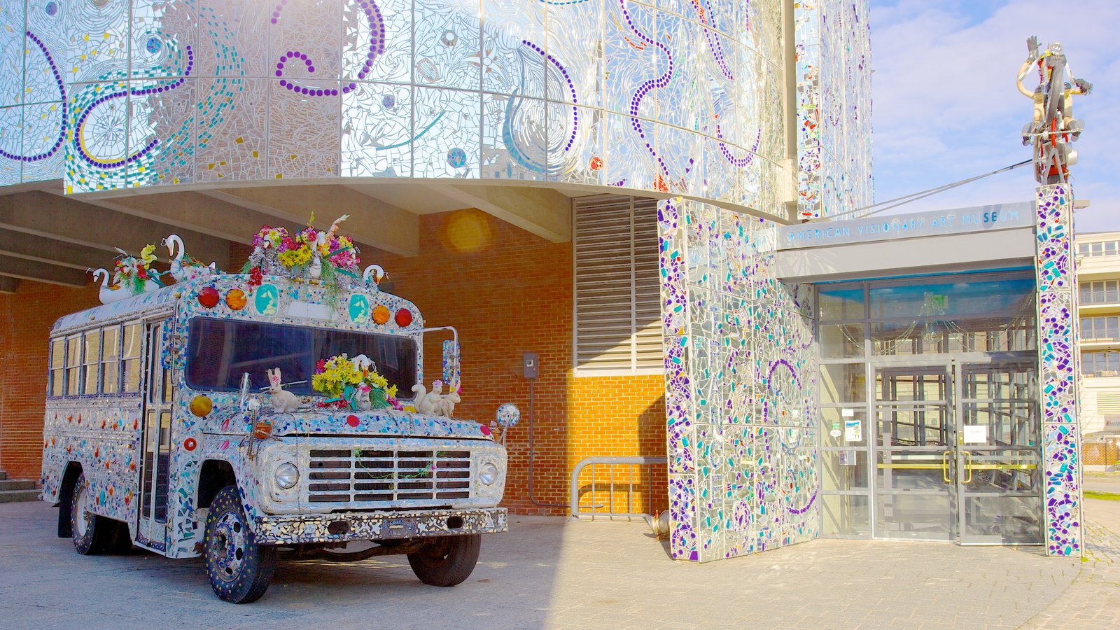 American Visionary Art Museum featuring art