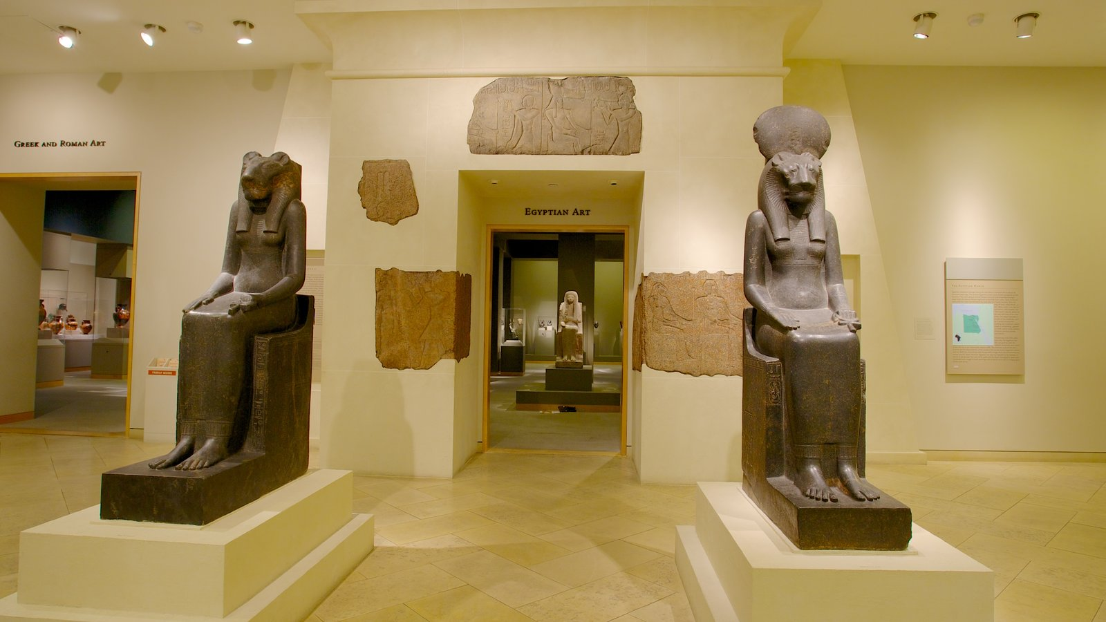 Walters Art  Museum which includes interior views, a statue or sculpture and art