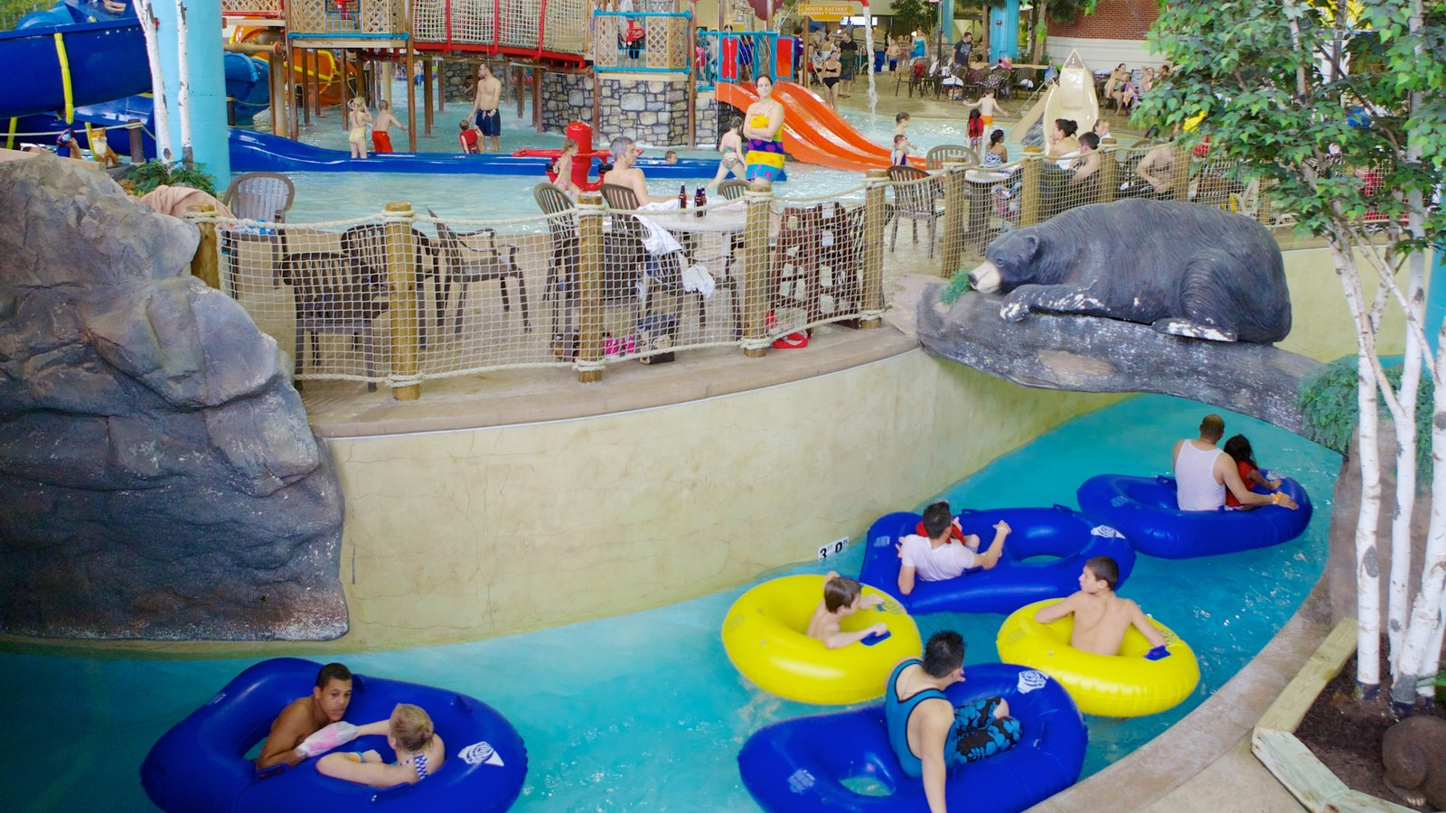 Water Park Of America Which Includes A Luxury Hotel Or Resort Rides And Waterpark