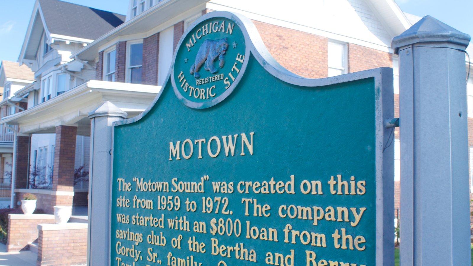 Motown Historical Museum mostrando sinalização