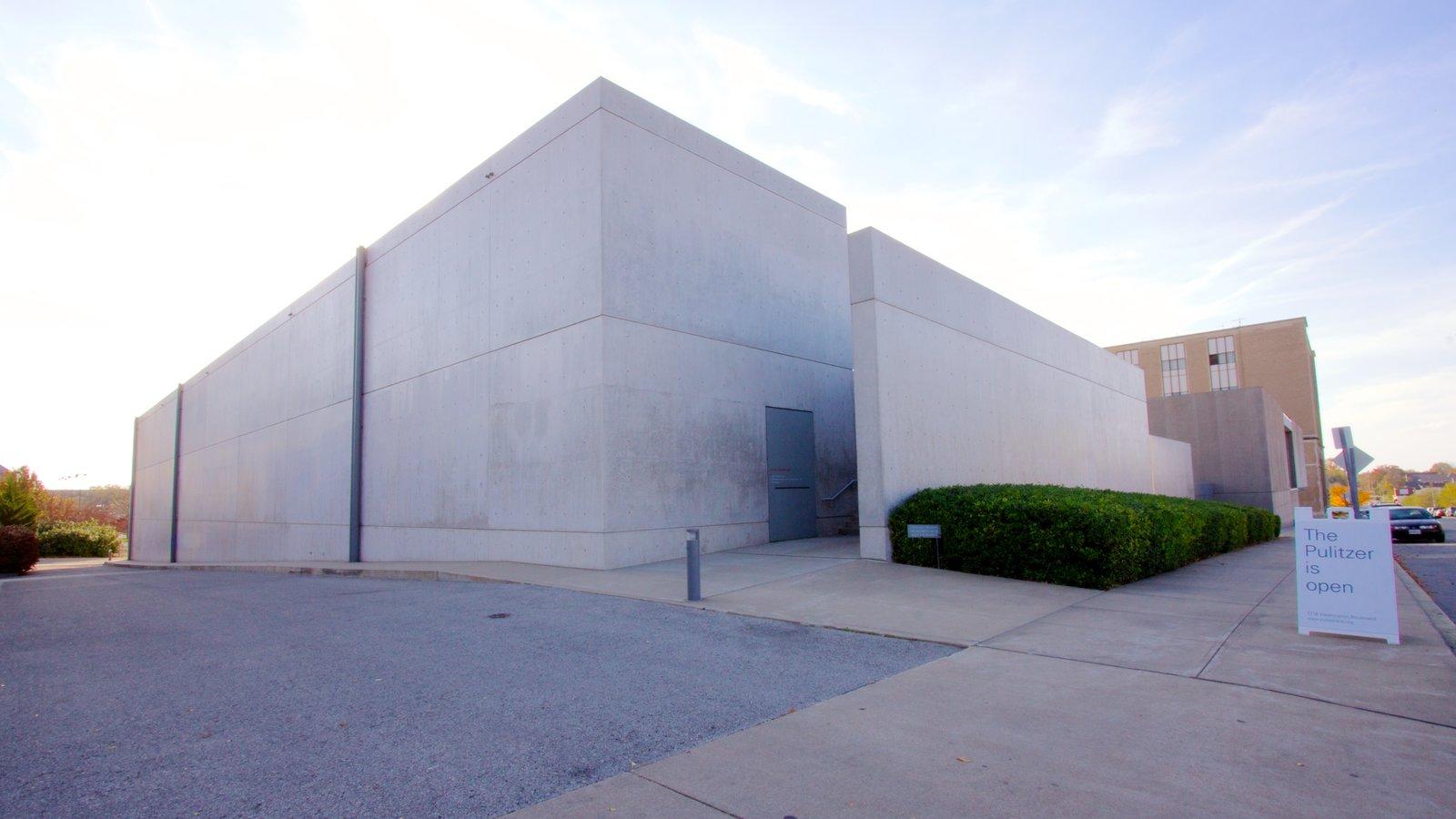 Pulitzer Foundation for the Arts mostrando arquitetura moderna