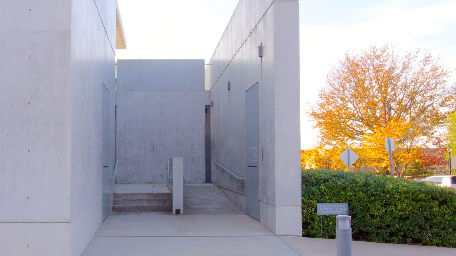 Pulitzer Foundation for the Arts caracterizando arquitetura moderna e arte
