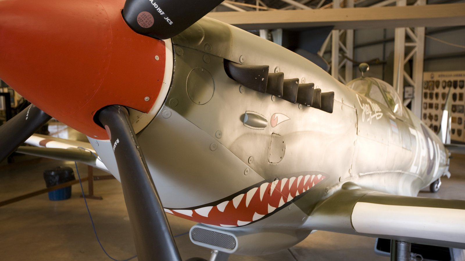 Australian Aviation Heritage Centre showing aircraft