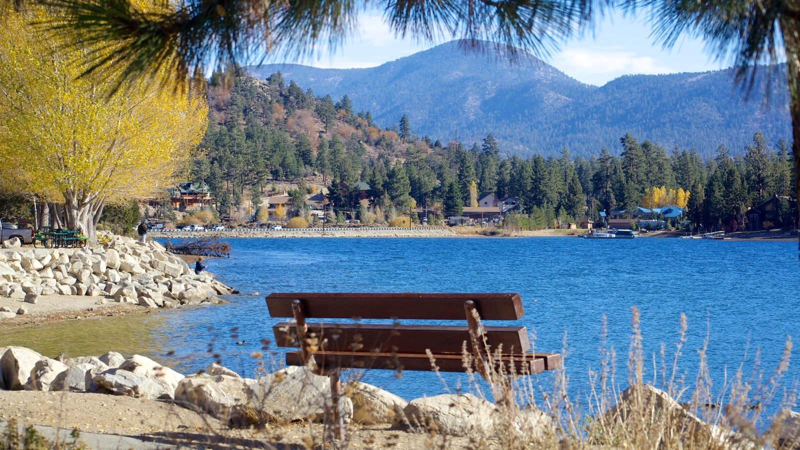 big bear lake Spring is here and is it time to get out on beautiful big bear lake most people who have been up here and fished the lake know that big bear is a great rainbow trout lake.