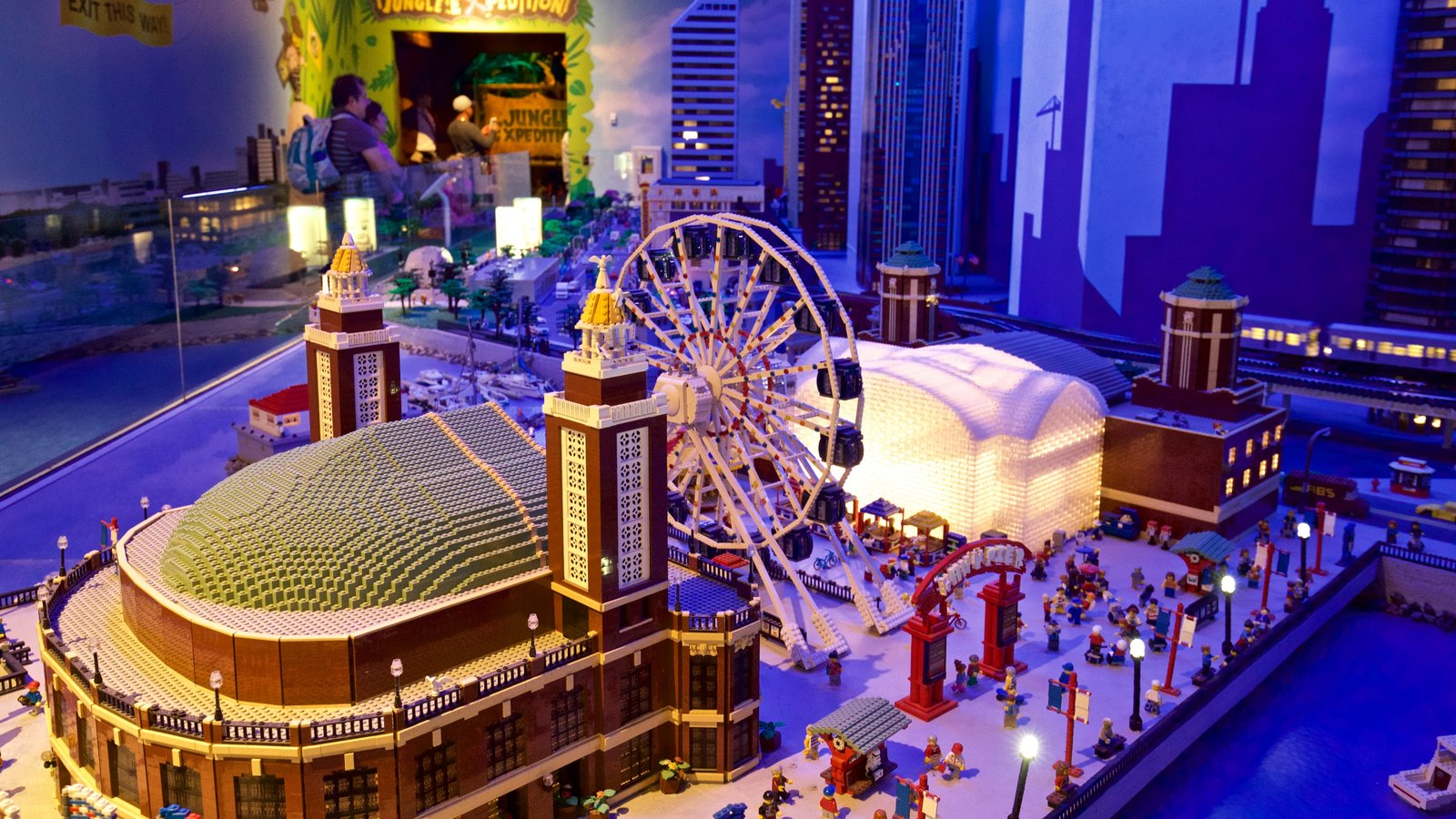 Legoland Discovery Center which includes interior views