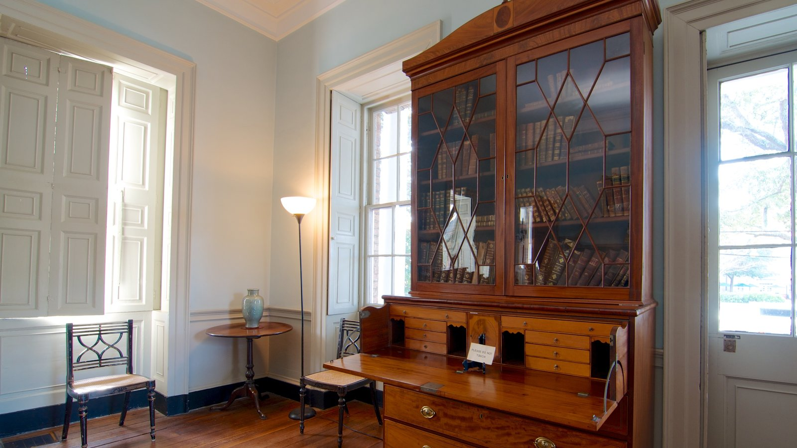 Joseph Manigault House mostrando vistas internas