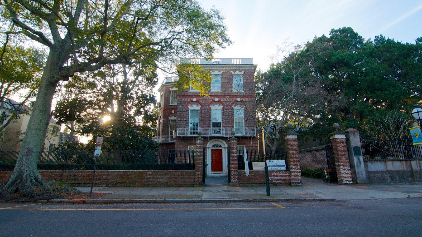 Nathaniel Russell House caracterizando uma casa