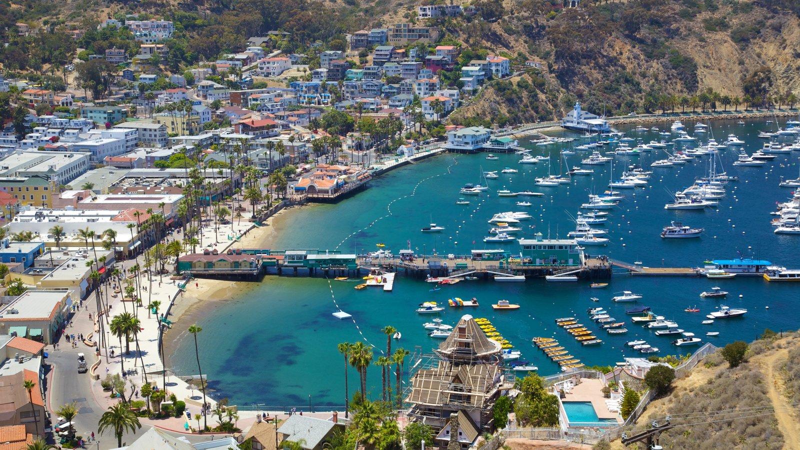Isla Catalina ofreciendo una marina, paseos en lancha y navegación