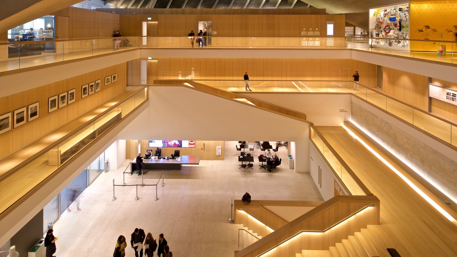 Design Museum which includes interior views
