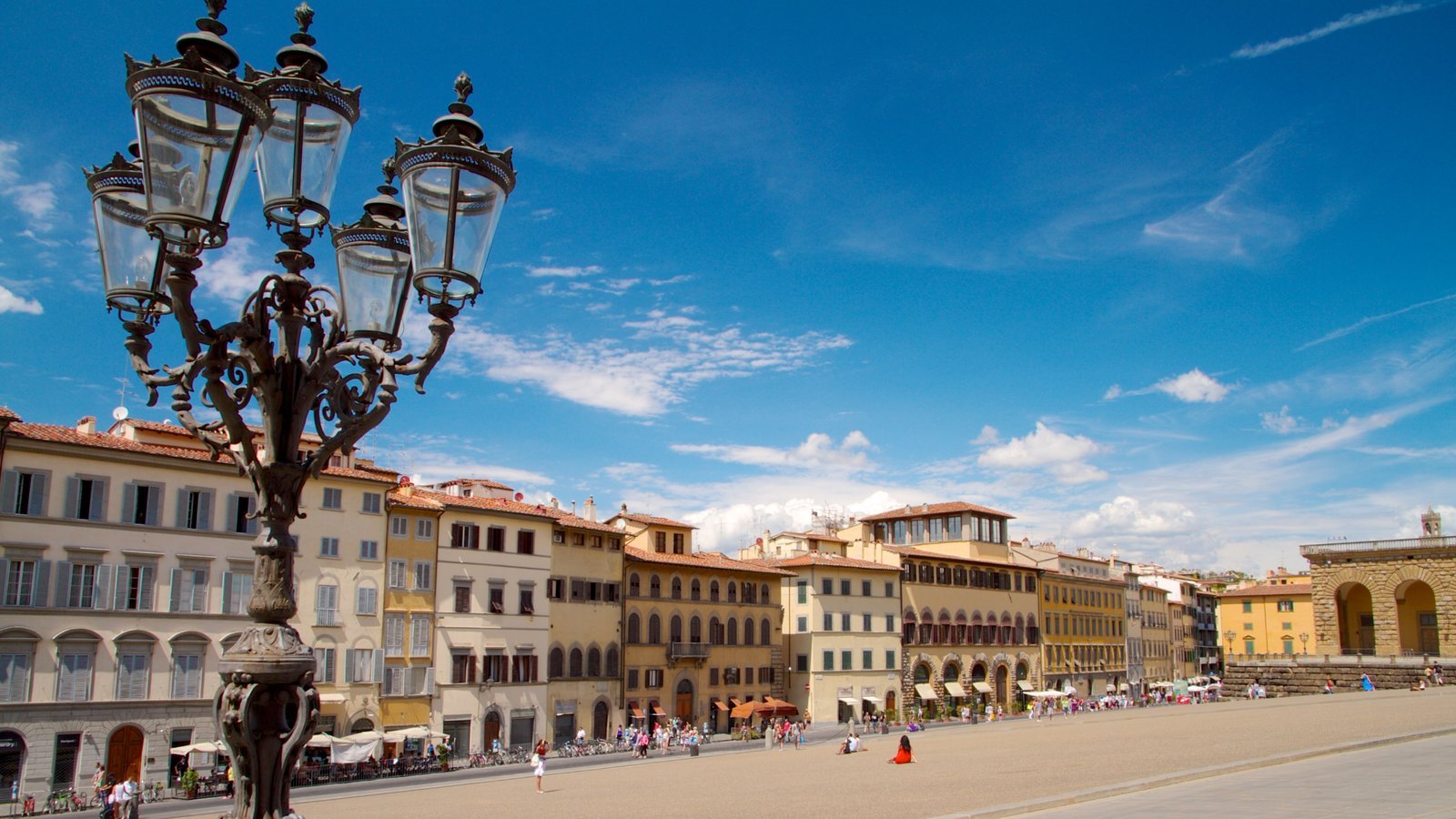 Pitti Palace featuring skyline, heritage architecture and street scenes