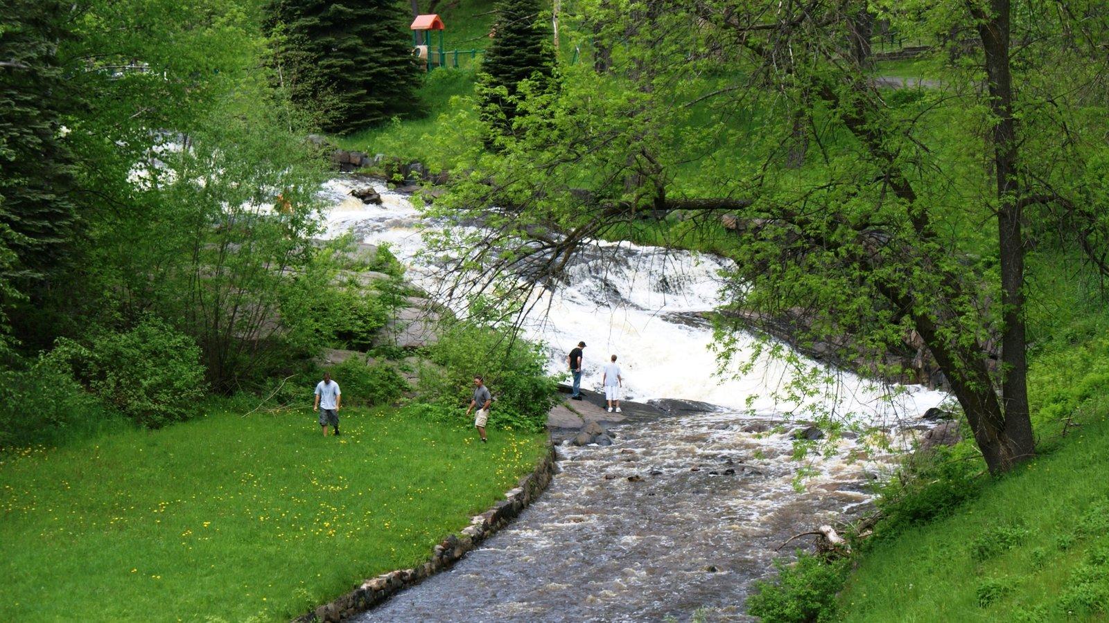 Duluth caracterizando um jardim, cenas tranquilas e escalada ou caminhada