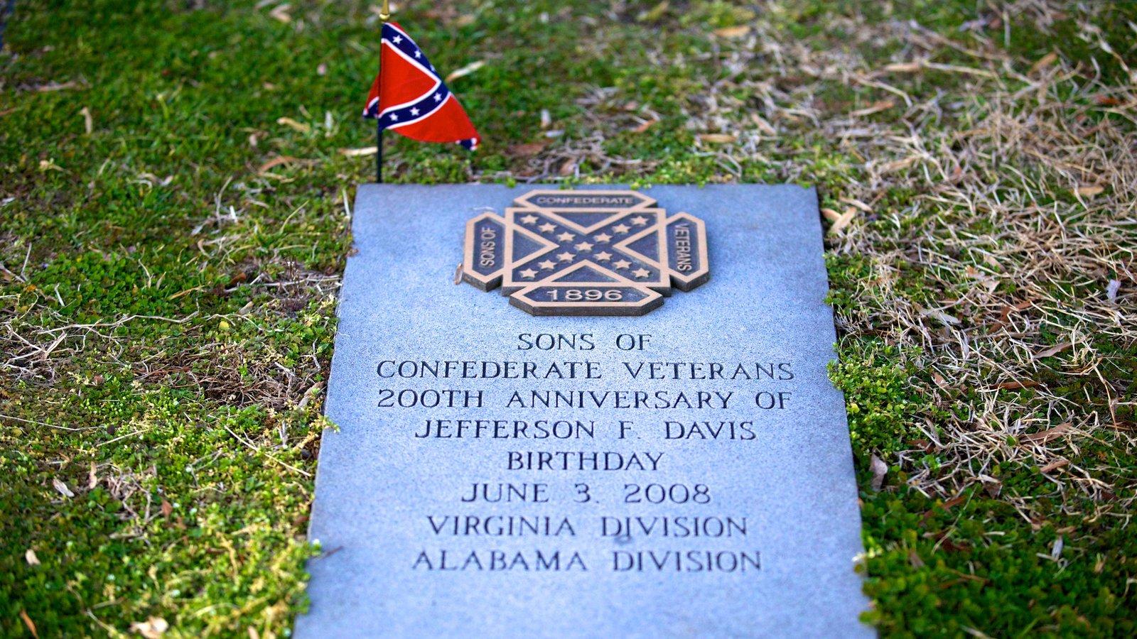 Richmond mostrando um cemitério, um memorial e sinalização