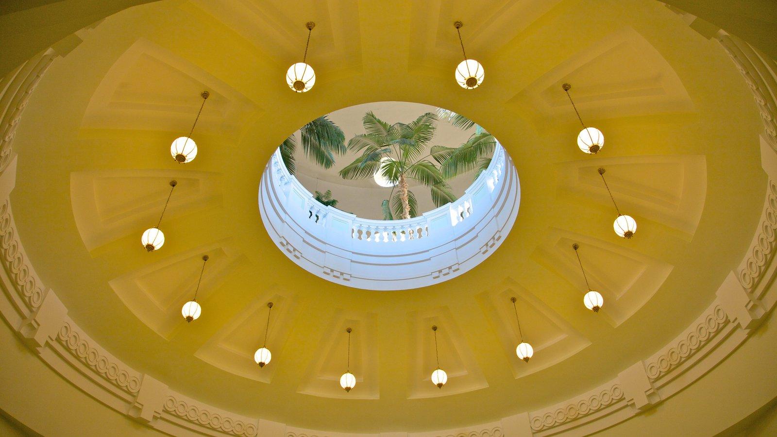 Alberta Legislature Building showing interior views