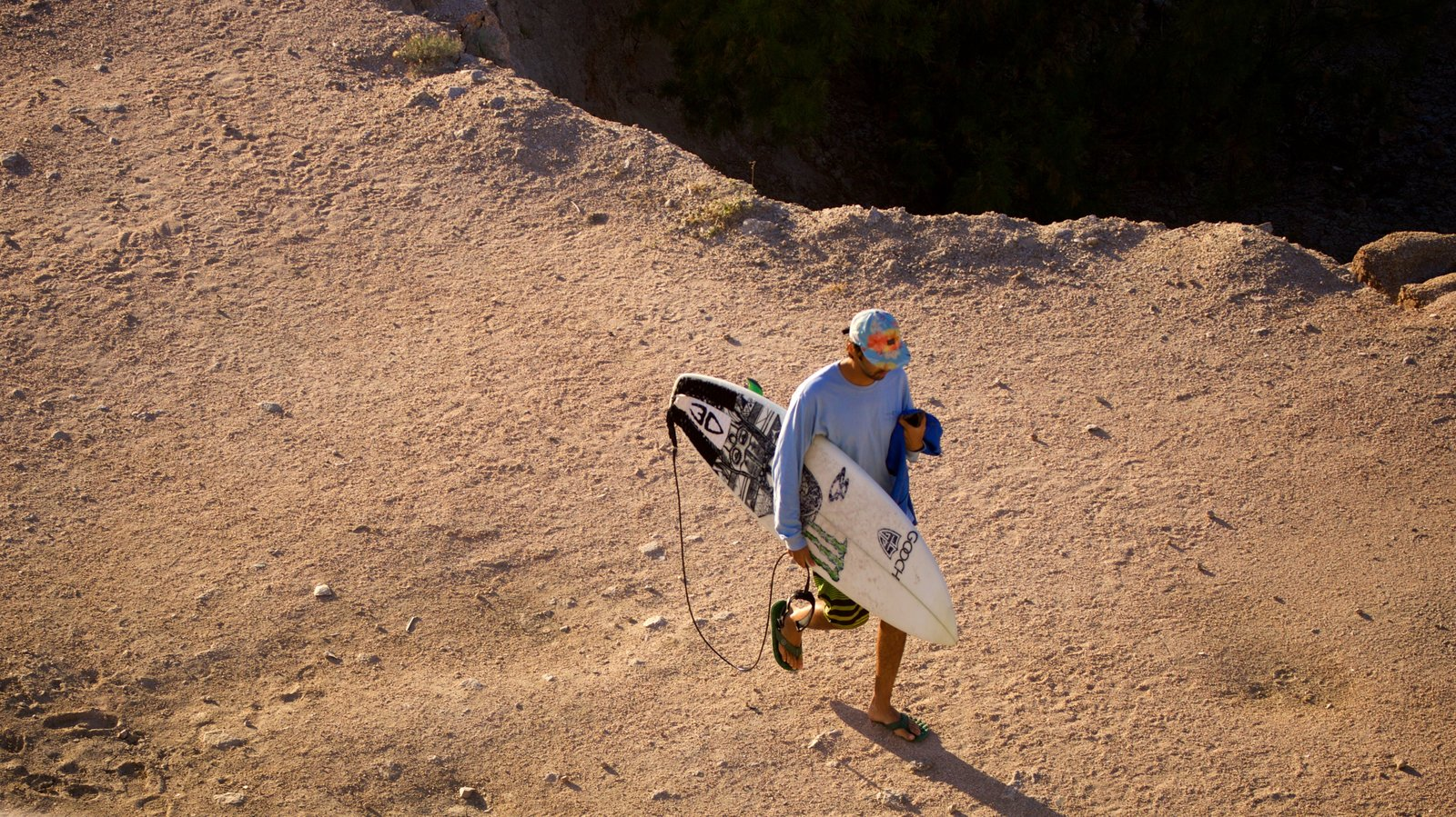 Cabo San Lucas showing a beach and surfing as well as an individual male