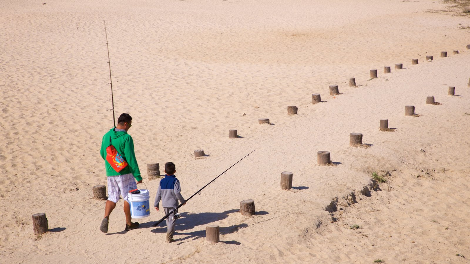 San Jose del Cabo featuring fishing, general coastal views and a sandy beach