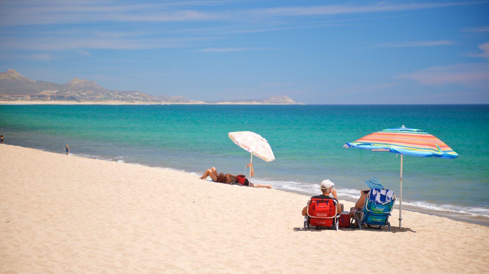 Costa Azul Beach featuring general coastal views and a beach as well as a couple