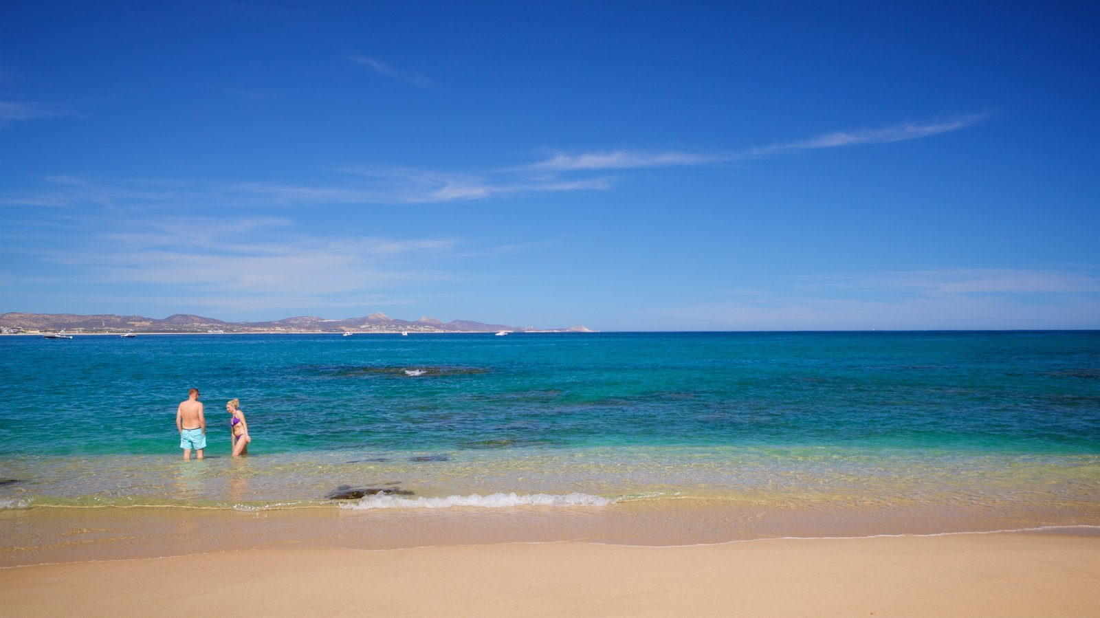 Palmilla Beach which includes general coastal views, a beach and swimming