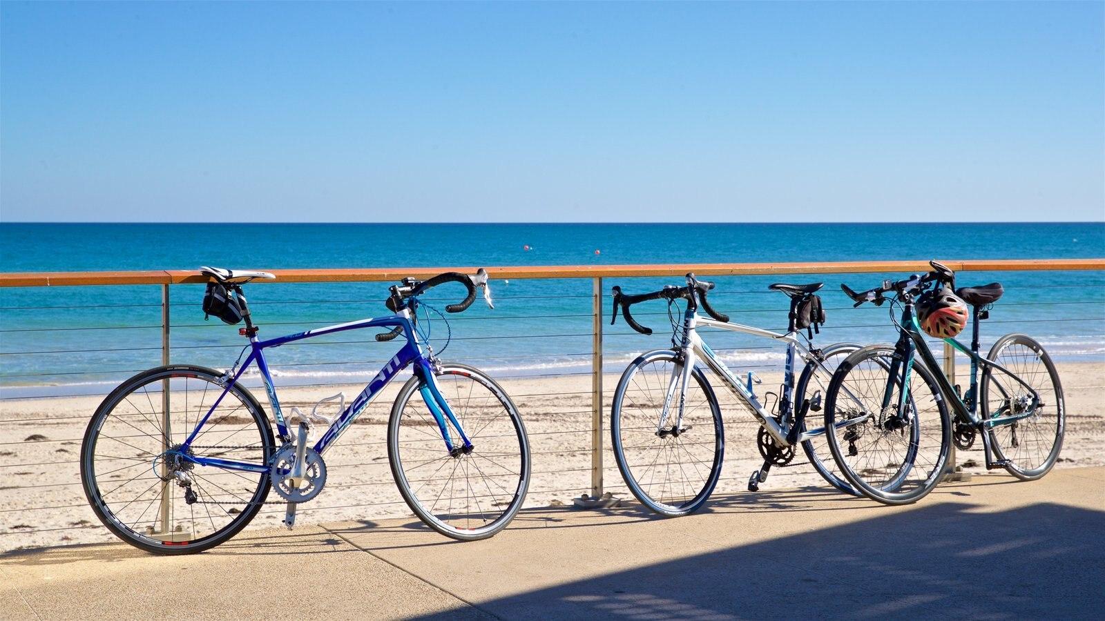 Playa Henley ofreciendo una playa de arena y vistas generales de la costa