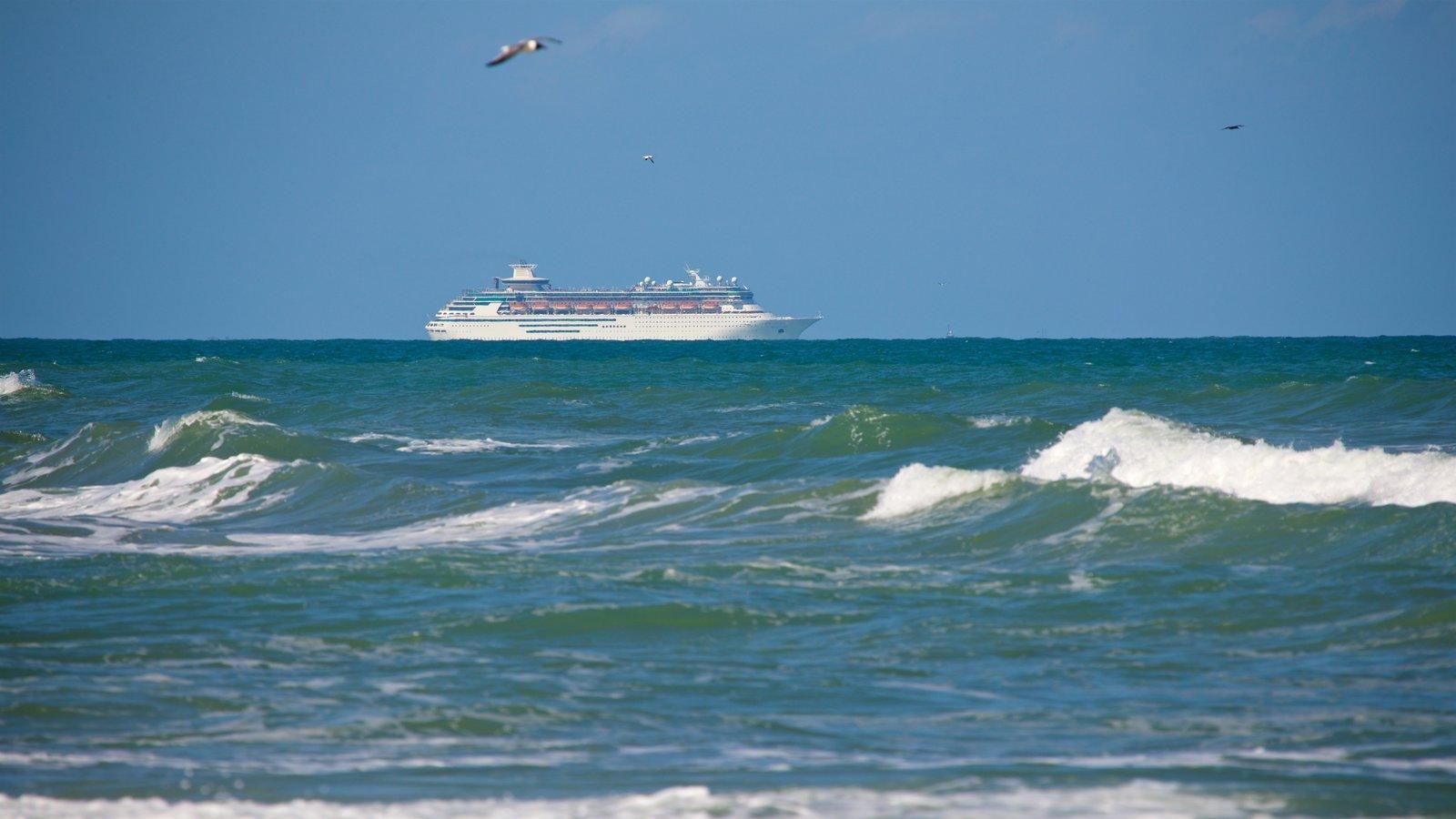 Cocoa Beach featuring cruising, general coastal views and waves