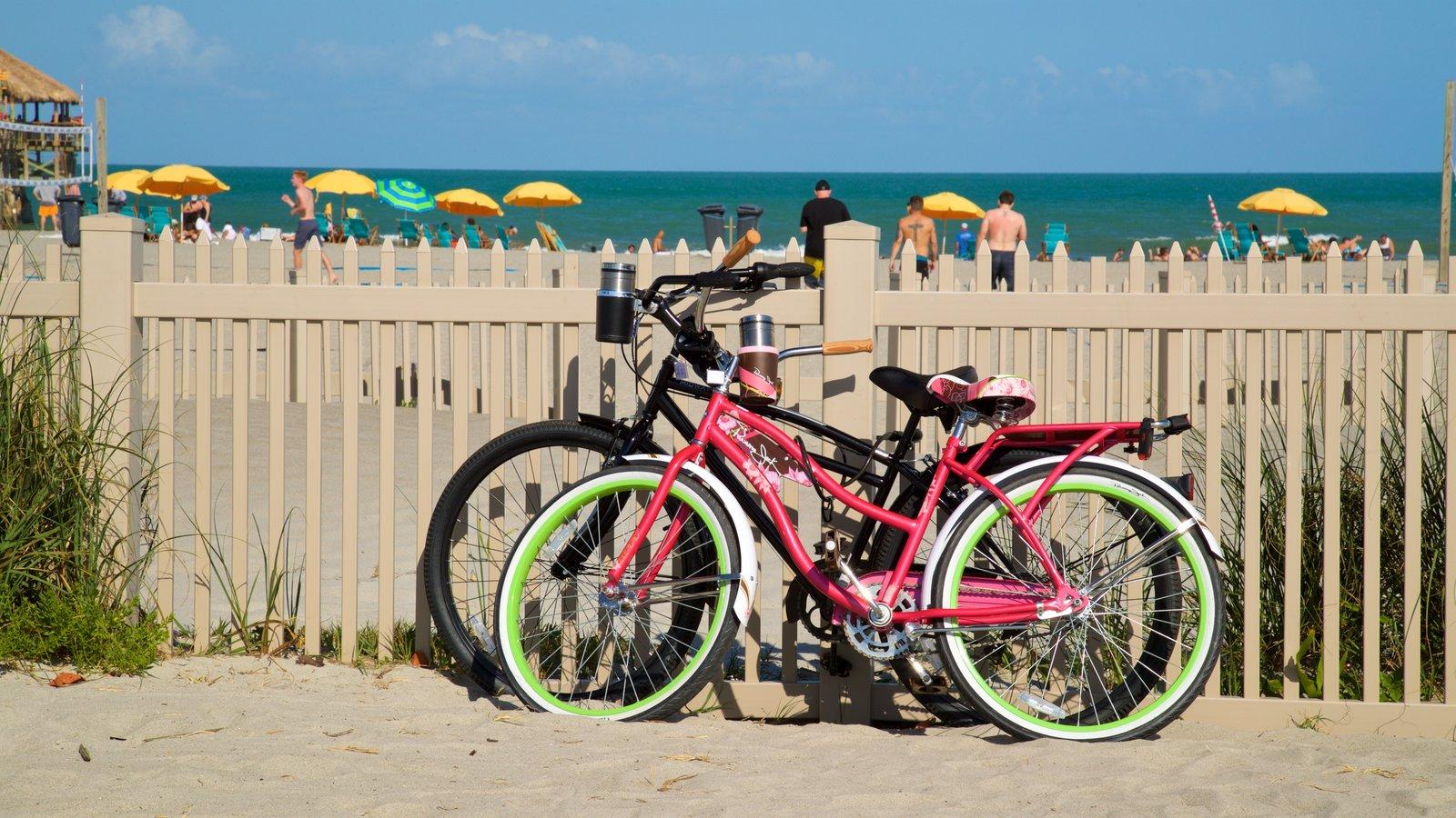 Cocoa Beach featuring a beach and general coastal views