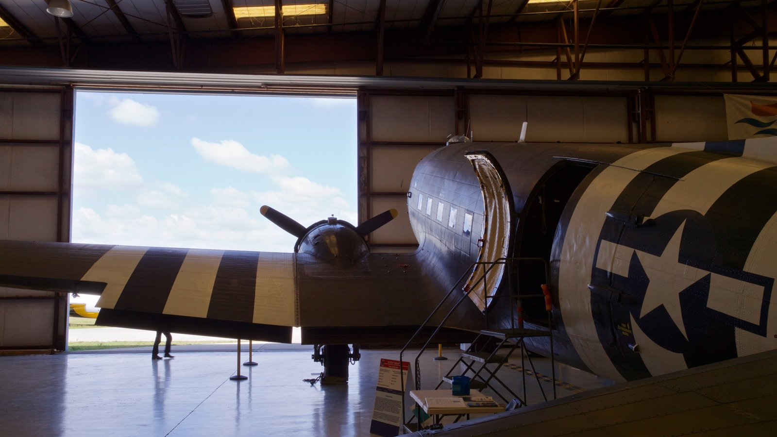 Valiant Air Command Warbird Museum showing interior views and military items
