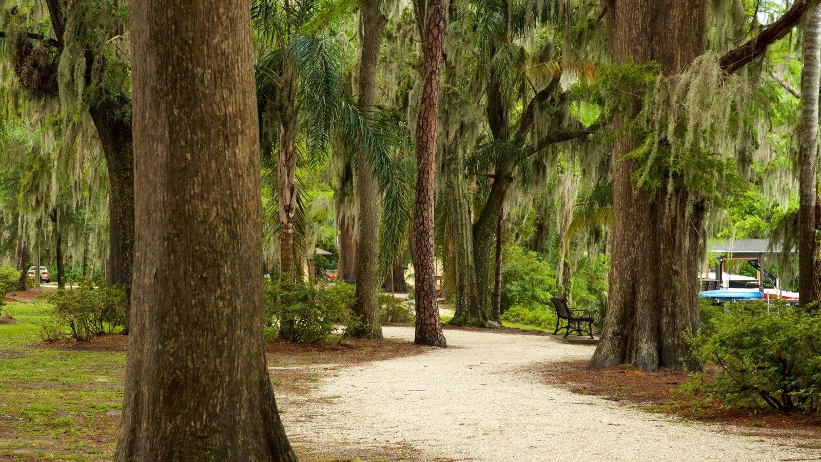 Jardines de Kraft Azalea que incluye un parque
