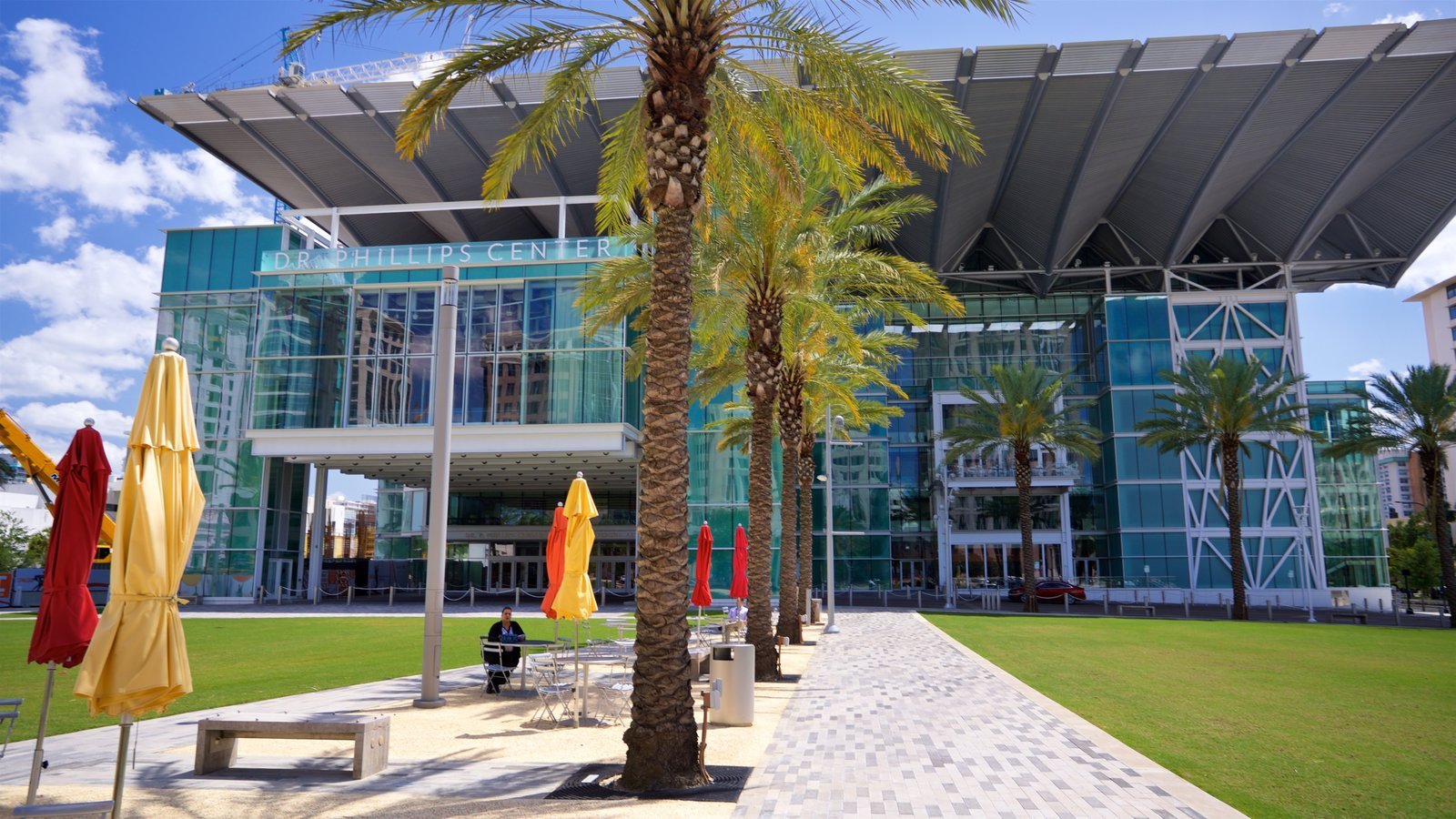 Dr. Phillips Center for the Performing Arts featuring modern architecture