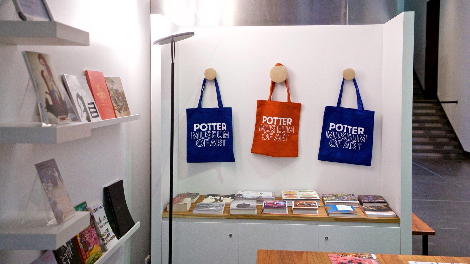Museo de arte Ian Potter que incluye vistas interiores
