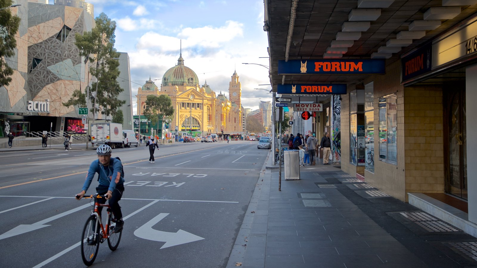 Forum Theatre which includes road cycling as well as an individual male