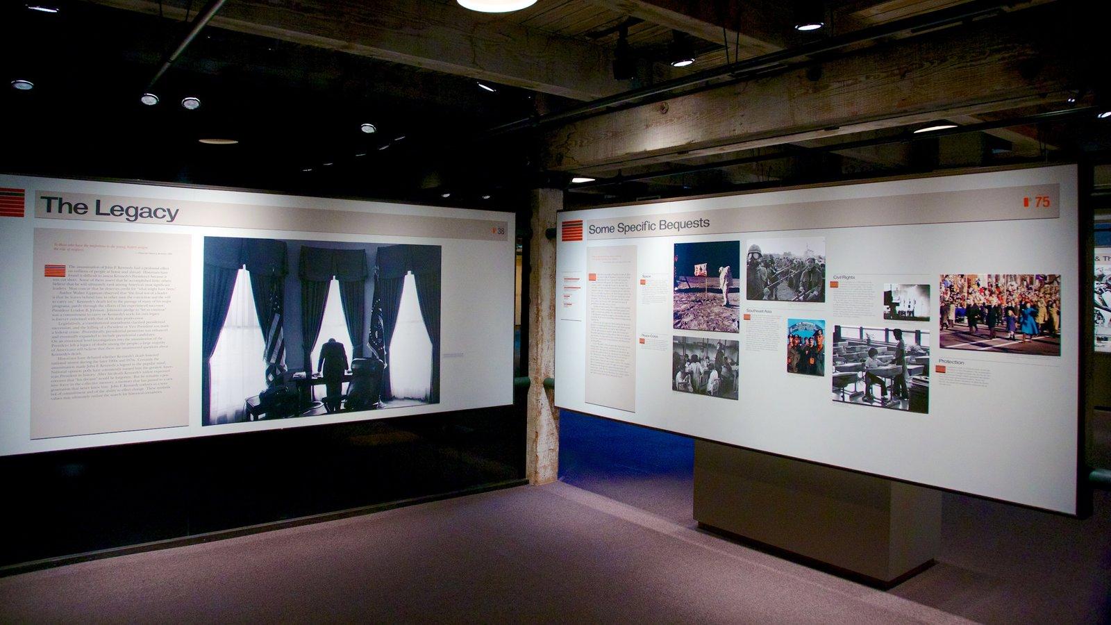 Sixth Floor Museum Showing Interior Views
