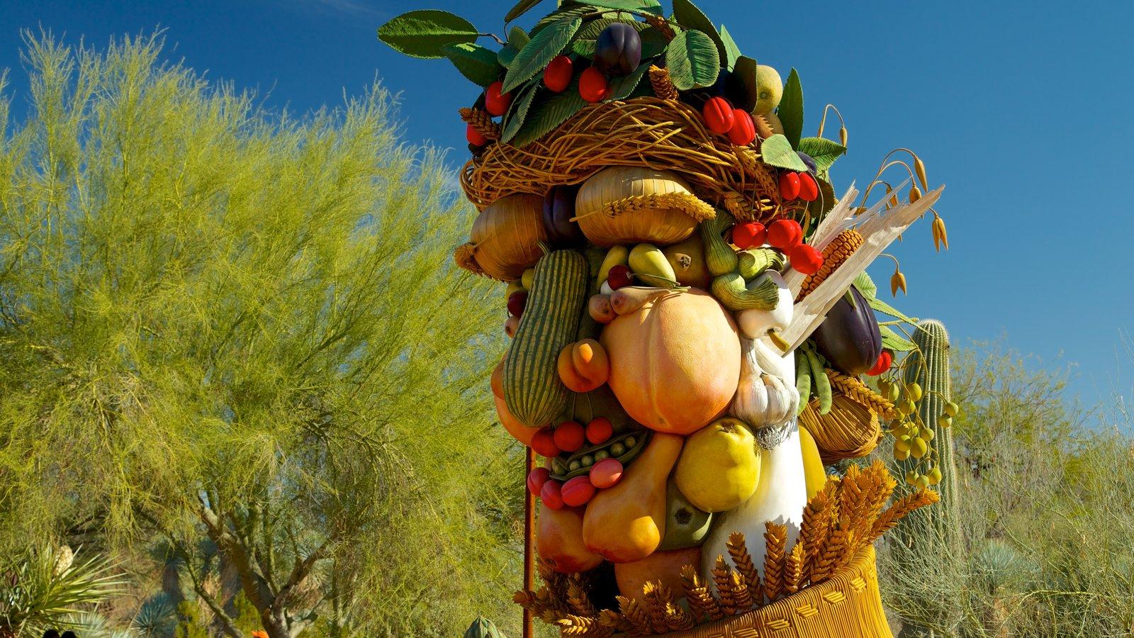 Desert Botanical Garden que inclui comida