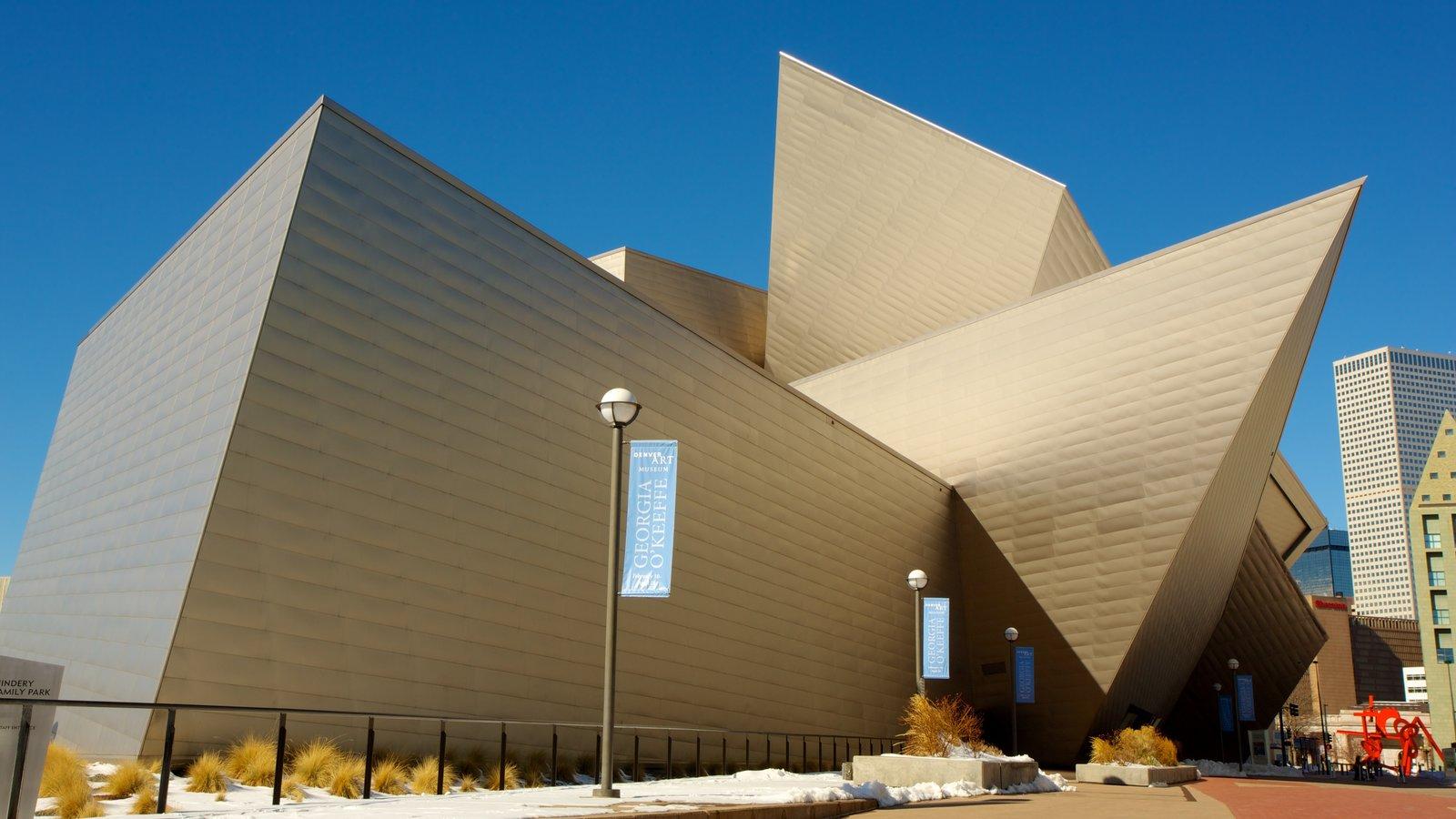 Denver Art Museum que inclui arte